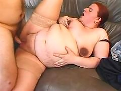 Chubby pregnancy lady fucked by guy